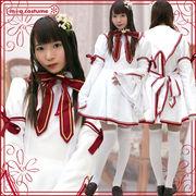 ■送料無料■風祭学院高校制服 色:白 サイズ:M/BIG ●Rewrite(リライト)・ke