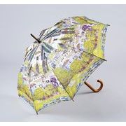 【お仕入れ10000円で送料無料♪♪】【ジャンプ傘】クリムト ドナウ川沿