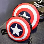 キャプテンアメリカ Captain America カラフル バッグ 鞄 コスプレ小物 入学 卒業式 通勤 男女兼用