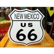 アメリカンブリキ看板 U.S. ROUTE66 -ニューメキシコ-