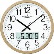 【代引不可】CASIO カシオ 電波掛時計