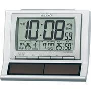 【代引不可】SEIKO セイコー 電波ソーラー目覚まし時計