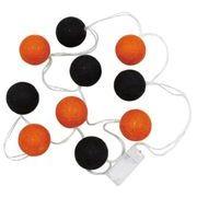 丸和貿易 イルミネーションライト ボールライトガーランド LED10球 ハロウィン カラー 1.65m