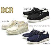 【BCR】 BC-766 モカシンカジュアルスポーティ メンズシューズ 全3色