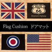 ★【FLAG ITEM Serier】★フロアマット★フラッグ ドアマット★