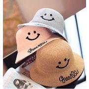 笑顔帽子★親子帽子★日除け帽 ファッション