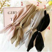 アクセサリー スカーフ 簡単で魅力的 4色