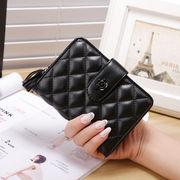 新しいデザイン★韓国風★女★短いスタイル★財布★T-ストラップ★多機能の★女性の財布