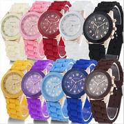 ★韓国風★創意製品★レディース腕時計★ブレスレット風★全15色★時計