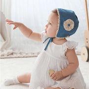 激安☆ベビー◆子供用帽子◆ 赤ちゃん ◆ボンネット◆花柄レース◆ボンネット◆ハット◆フラワー