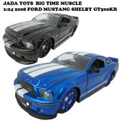 JADATOYS 1:24 2008 FORD MUSTANG SHELBY GT500KR ミニカー