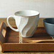 【特価品】ホワイトウェーブ 11.5cmマグカップ[B品][美濃焼t]