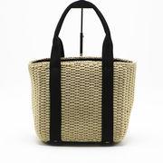 夏らしいデザイン 夏VIVI 可愛い バッジ  かごバッグ バッグ カゴバッグ