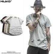 メンズ Tシャツ 半袖 クルーネックトップス コットン カジュアル 春 夏 全5色