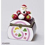【10月11日から20日まで10%分引きセール!】【クリスマス】【ケーキヒンジボックス】3種
