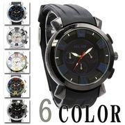 【Bel Air collection】★マルチカラーインデックス メンズ 腕時計 OSD44