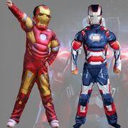 ハロウィン衣装  子供用  アイアンマン 仮装  筋肉タイプ ハロウィーン コスプレ