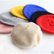 韓国風帽子★秋冬新しいスタイル★ベレー帽★キッズファッション