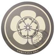 《歴史》織田信長 サークルステッカー/家紋 戦国武将