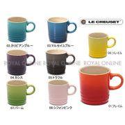 【ル・クルーゼ】 PG8005 エスプレッソカップ 100ml  キッチン マグカップ せっ器 全8色