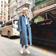アンティーク調 デニムジャケット 女 カレッジ風 アンティーク加工 新しいデザイン 着や