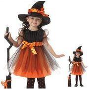 ★ハロウィン ★alloween Costumes ★子供 ハロウィン衣装 ★コスプレ衣装★仮装 魔女