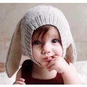 【ニュースタイル !!】★子供帽子★帽子★秋冬のアイテム★ニット帽子★赤ちゃん帽子★4色