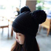 韓国風★★可愛いキッズ帽子★ニット帽子★おすすめ帽子★ハットファション帽★