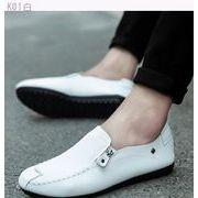 2017新しい夏の豆靴メンズカジュアル怠惰な別ペダル靴靴通気性ジョーカー韓国男性の靴しま-続く(2)