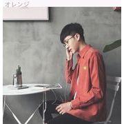 点滅韓国十代の若者たち漫画ブームの長袖シャツ刺繍ヴィンテージ メンズ ジャネット シンプ