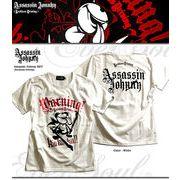 「Assassin Johnny SST (Reckless Driving)」 暴走ジョニーカラー箔プリントTシャツ