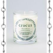 【新パッケージ】voyage ヴォヤージュ アロマキャンドル (マッチ付) クロッカス (crocus)