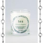 【新パッケージ】voyage ヴォヤージュ アロマキャンドル (マッチ付) ティー (tea)