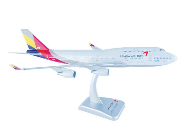 Hogan Wings B747-400 アシアナ航空 新塗装