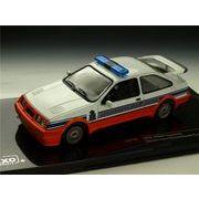 ixo/イクソ フォード シエラ コスワース 88 Gendarmerie ホワイト/オレンジ