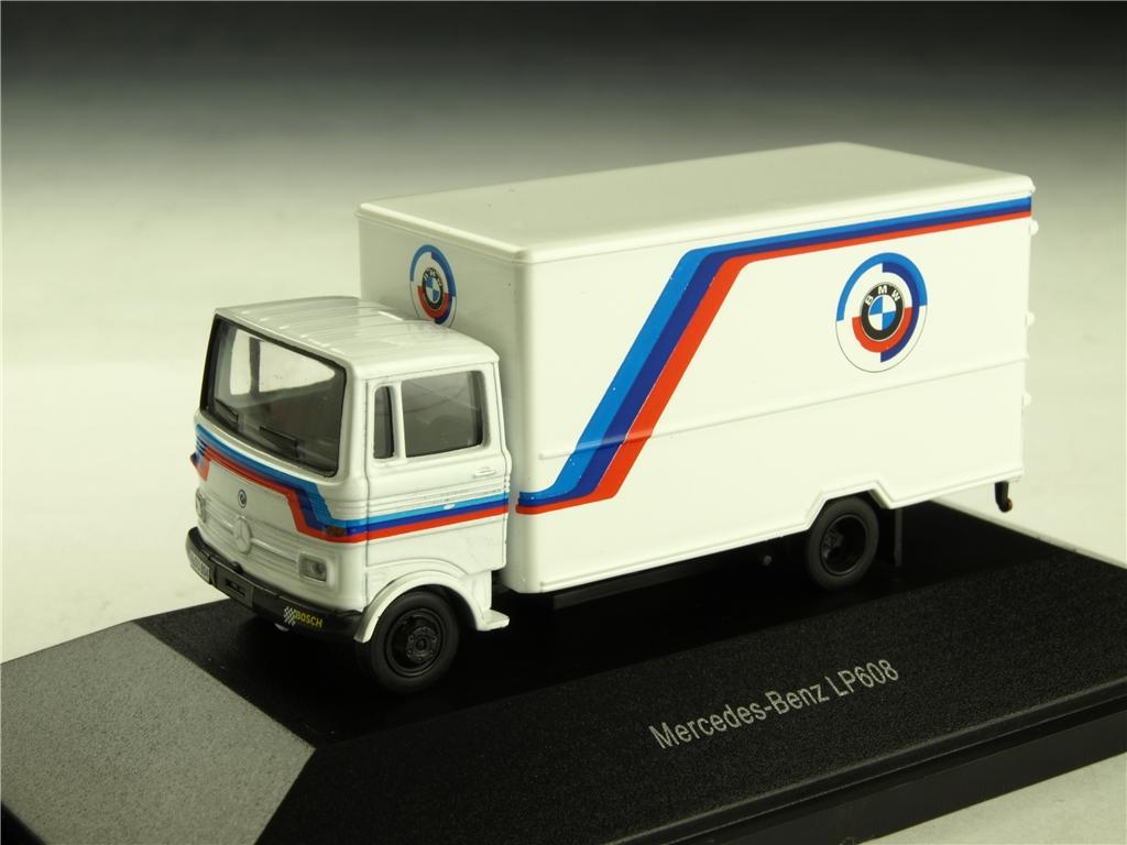 Schuco/シュコー メルセデス・ベンツ LP608 ボックスバン BMW モータースポーツ ホワイト