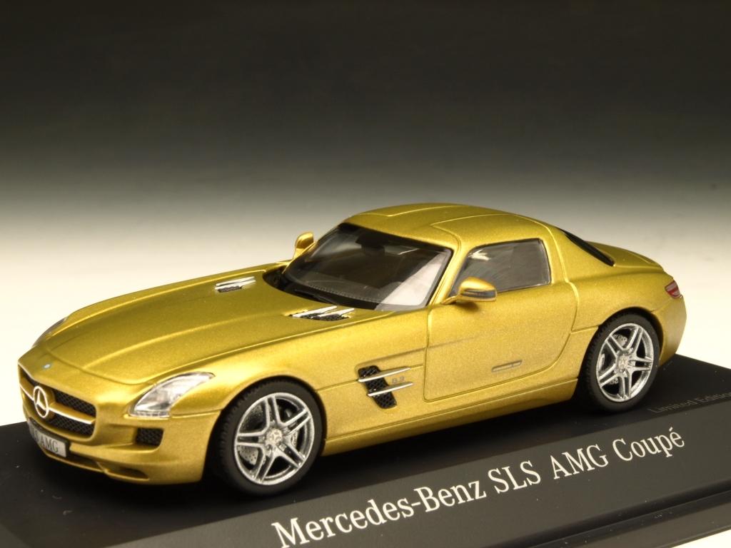 Schuco/シュコー メルセデス・ベンツ SLS AMG クーペ ゴールド