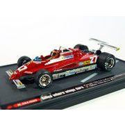 KBモデル(ブルム) フェラーリ 126C2 ターボ 82 ロングビーチGP #27 Gilles where w