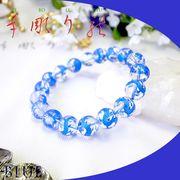 手彫り〈藍龍〉水晶(12mm)ブレスレット