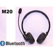 【M20】Bluetooth(ブルートゥース)ステレオヘッドホン黒