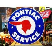 ビッグサイズ看板 Pontiac/ポンティアック ロゴ