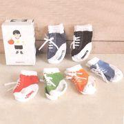 【TRUMPETTE/トランペット】SNEAKER BABY SOCKS 6PAIRS