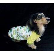【即納】犬服 カラフルプリントTシャツ 2カラー 6サイズ展開