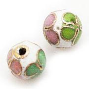 『七宝焼ビーズ』華やかなメタルパーツ 美しさと可愛さがある工芸品ビーズ 手芸素材にもおすすめ