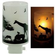 Aroma Concent Lamp アロマコンセントランプ アフリカ◆室内照明/ルームフレグランス