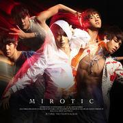 韓国音楽 東方神起 4集/呪文(MIROTIC)(A バージョン/CD+60Page写真集)