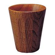 尾崎 木製 一口カップ 亀甲
