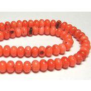 珊瑚(染色) 連販売 橙色 ナゲット 約6×4mm