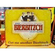 アメリカンブリキ看板 ビアービッチ・ロゴ Bierbitzch Logo