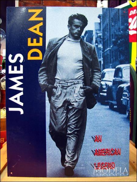 アメリカンブリキ看板 James Dean アメリカの伝説